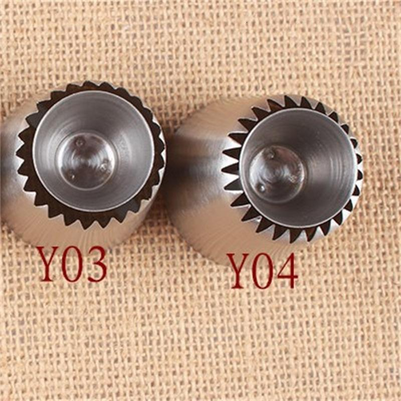 Baking Cookies Hollow Nozzle Tools Cream Biscuit Cake Decorating Supplies Stainless Steel Nozzles Kitchen Supplies 2 6jb F2