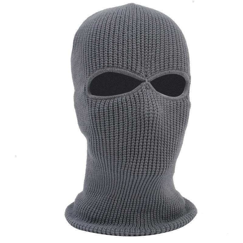 knitting Riding mask motorcycle warm headgear outdoor skiing windproof mask Hat Cotton Mask
