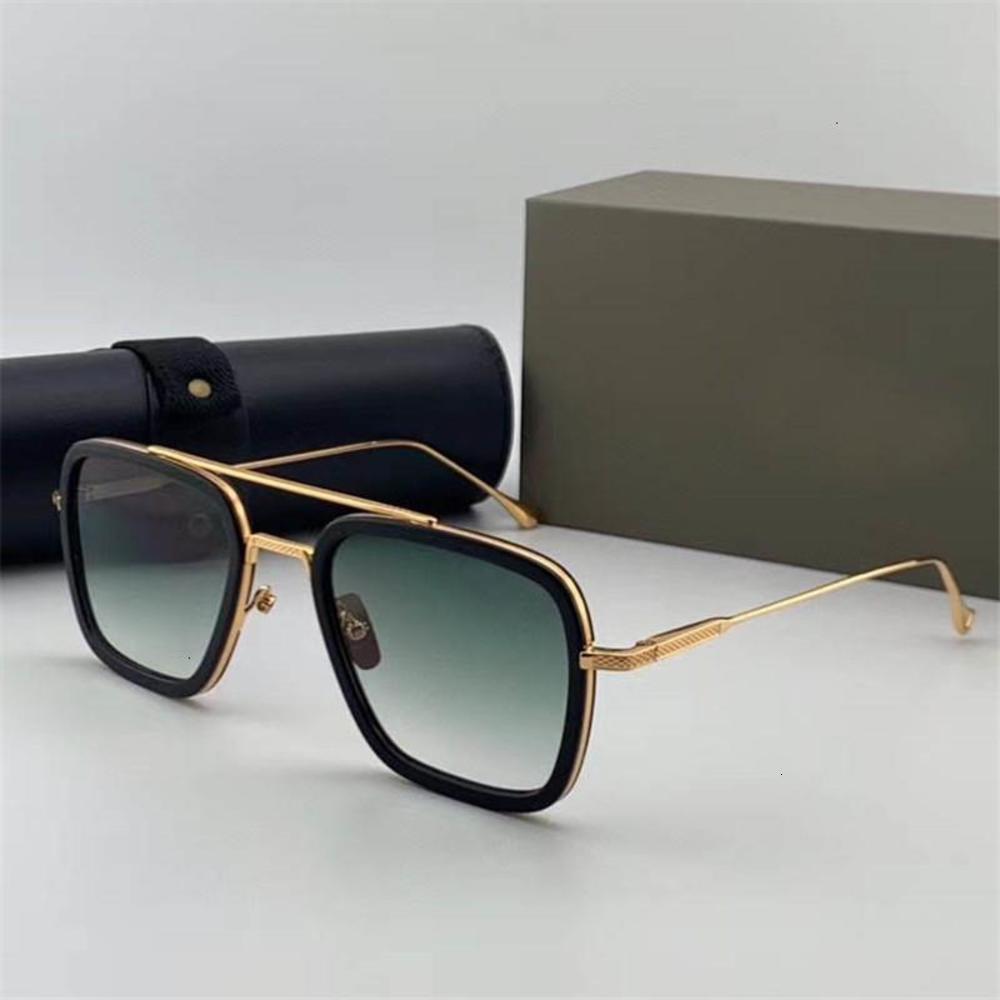 Free Global Logistics Flight 006 The latest design style men's and women's luxury sunglasses The best quality UV400
