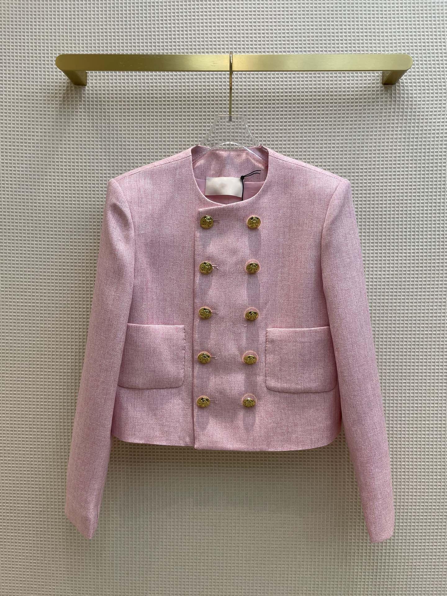 Milan Runway Coats 2021 Long Sleeve Print Women's Coats Designer Coats Brand Same Style Jackets 0509-6