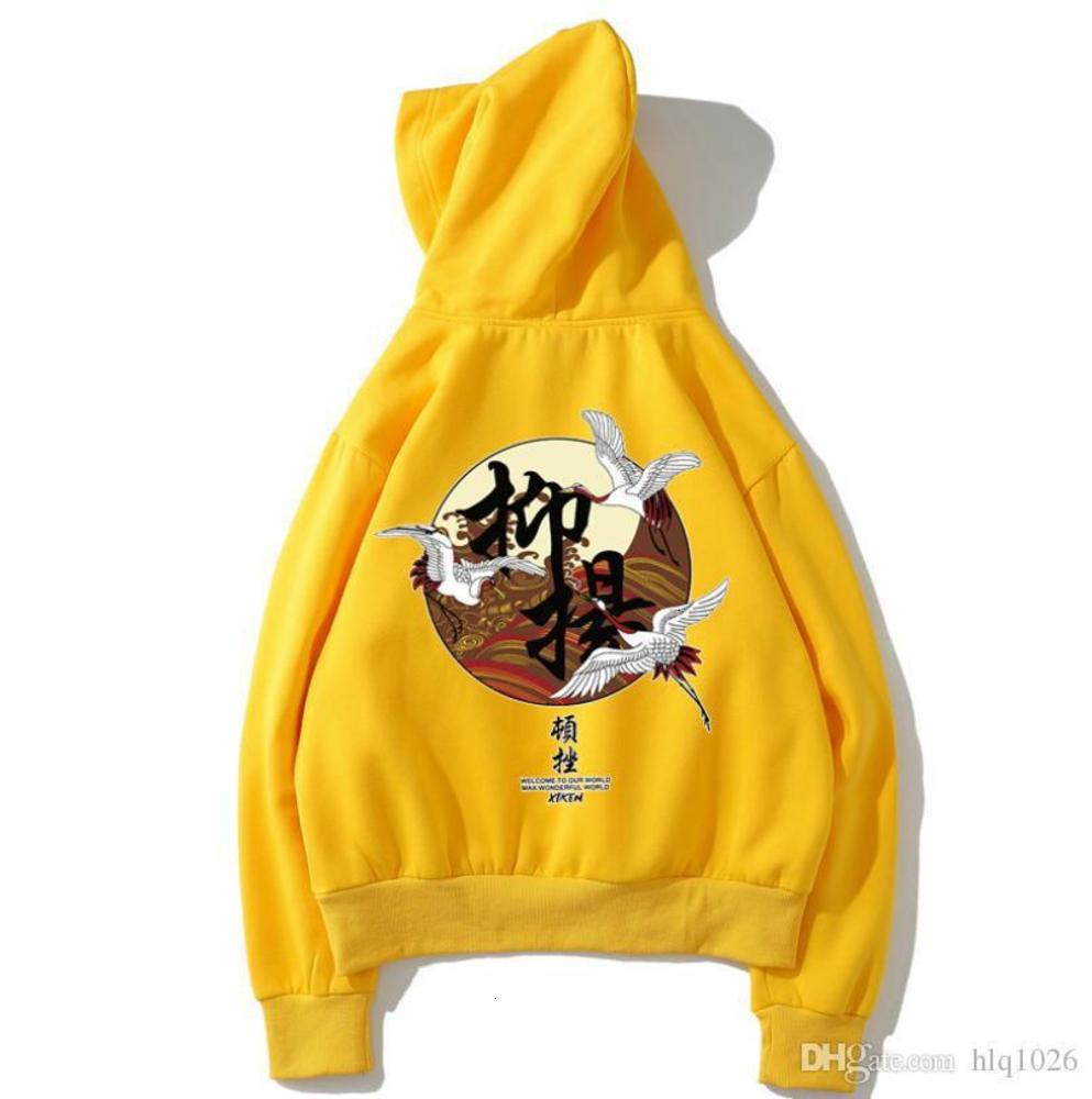 Fashion Printed Designer Hoodies for Men Chinese Style Fleece Pullover Luxury Sweatshirts Mens Hip Hop Casual Hooded Streetwear