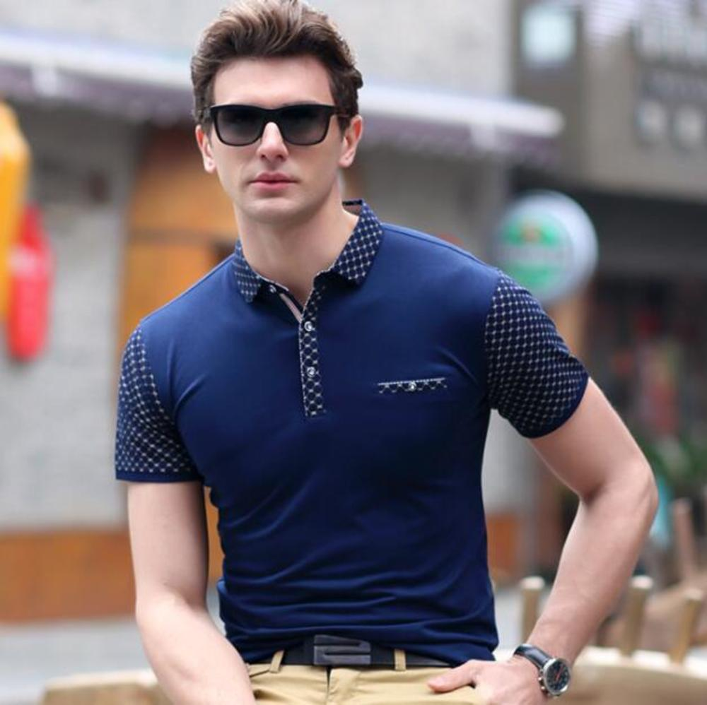 new men's wear specials in pure color business short-sleeved t-shirts