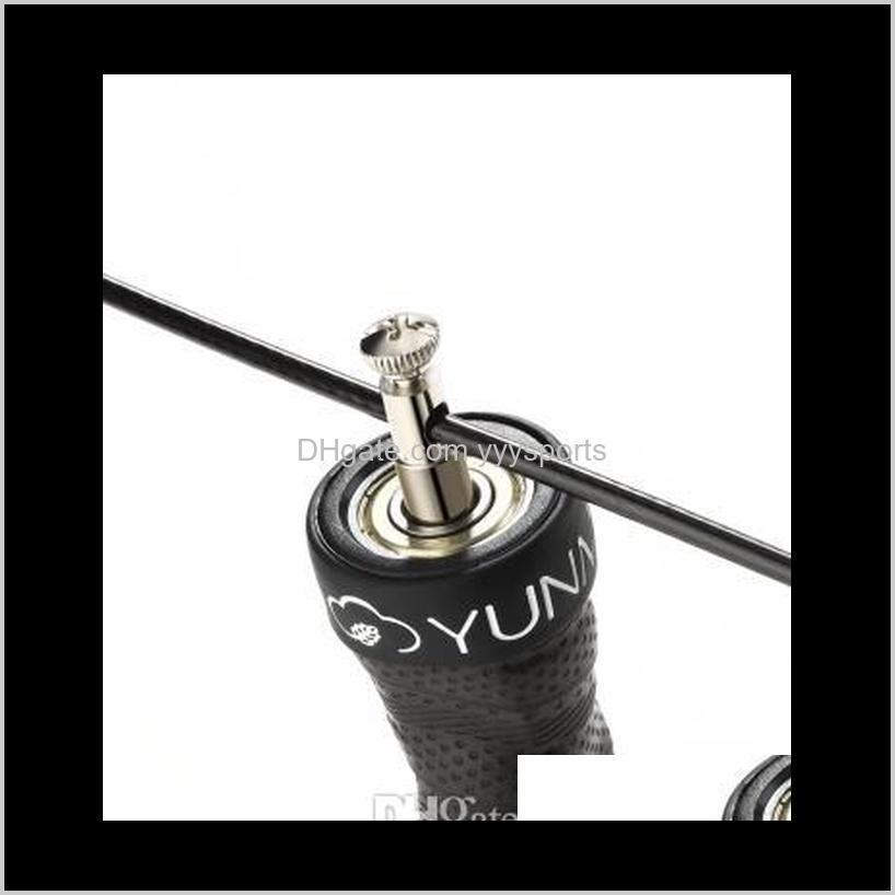 yunmai original one piece bearing double wire rope heavy metal block rope jumping from mijiayoupin - #01