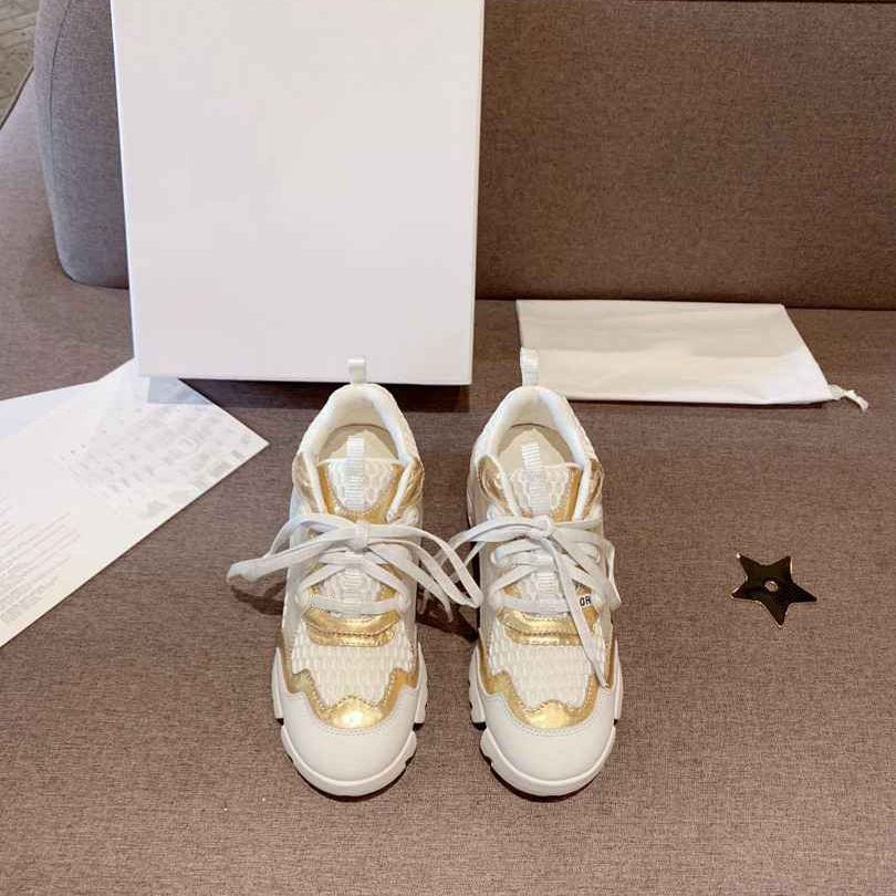 NEW arrival women casual dad shoes versatile women dad shoes top quality with box