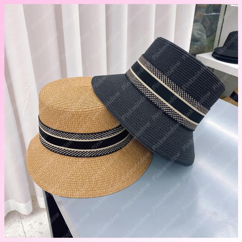 Straw Bucket Hat Women Men Hats Luxurys Designers Caps Hats Mens Bonnet Beanie Cappelli Firmati Summer Hat Cap Mütze Beanies 2105171L