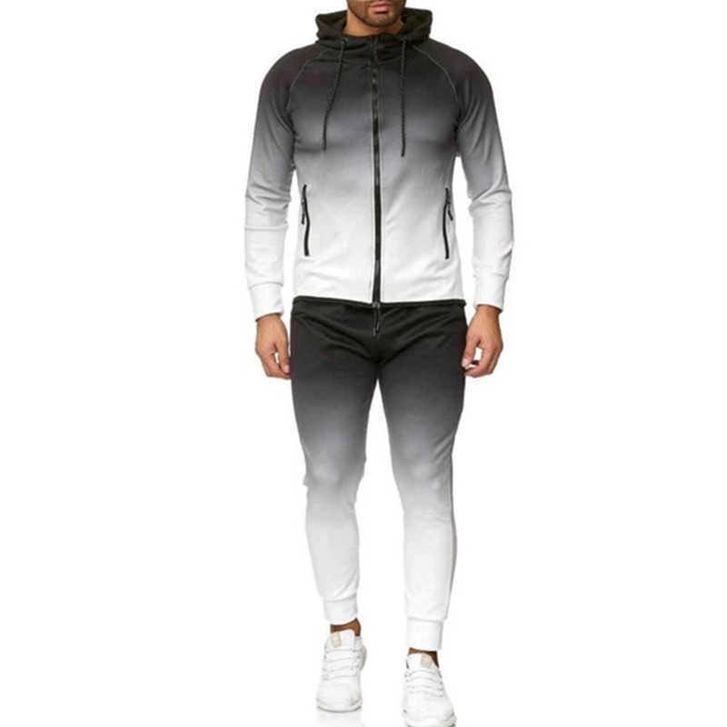 Track Suit sweatsuit Joggers Sets Men Tracksuit Men Set men Sports Suits Tracksuit Jogging Homme Spring Track Suit X0610