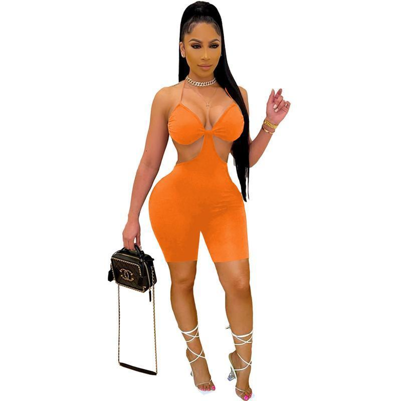 rompers womens gallus jumpsuits overalls one piece shorts sexy elegant fashion skinny jumpsuit pullover comfortable clubwear selling women clothing klw6426