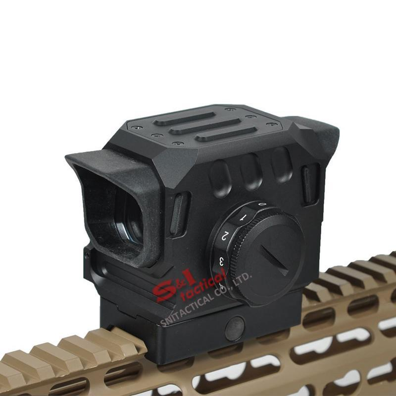 Tactical DI EG1 Optical Red Dot Rifle Scope 1.5 MOA Holographic Sight for 20mm Rail Hunting Scope Black