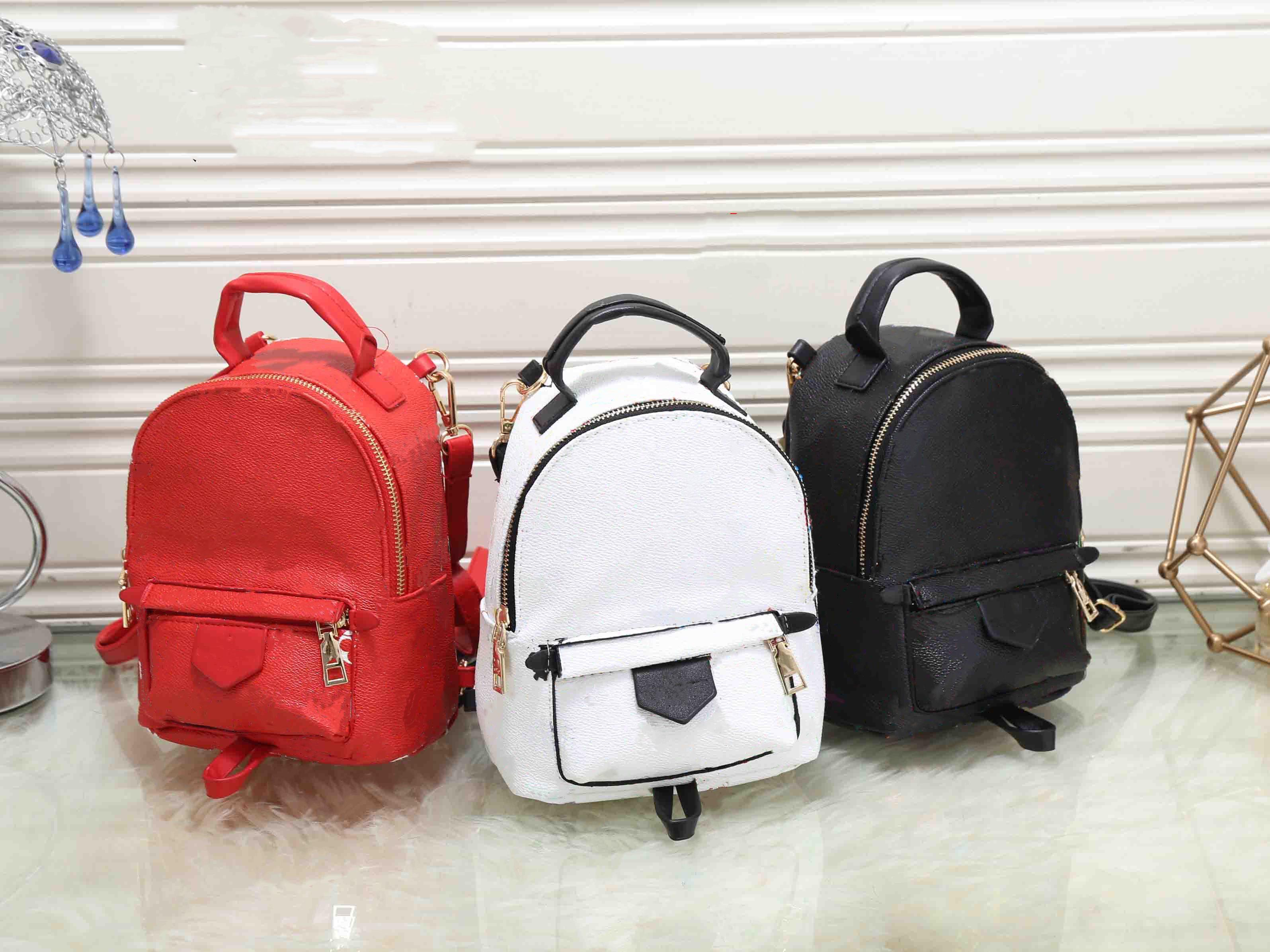 Palm Springs Women Mini Backpack Luxury Designers Bag Ladies Small Backpacks Fashion Mobile Phone Purse 016