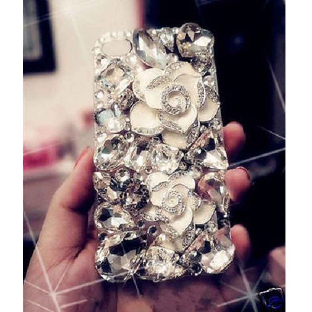 White Camellia+Crystal