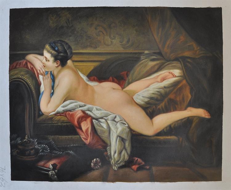 Сексуальная женщина картина художник