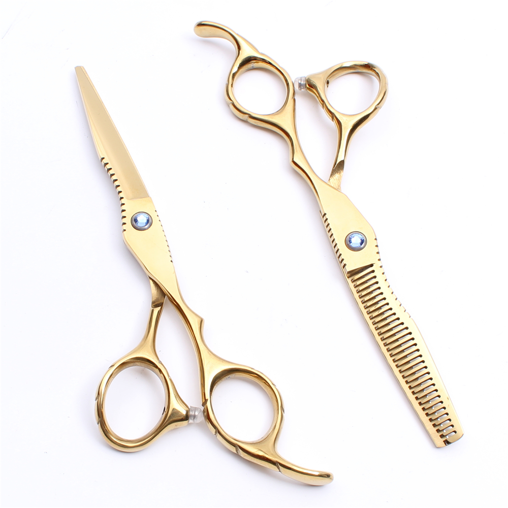 Golden Hair Cutting Scissors Online Shopping  Buy Golden Hair