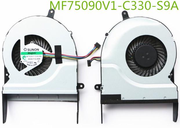 DXCCC Laptop CPU Cooler Fan For Asus N56 N56JR N56VV N56VZ N56VW N76VZ CPU Cooling Fan KSB0705HB-BK99