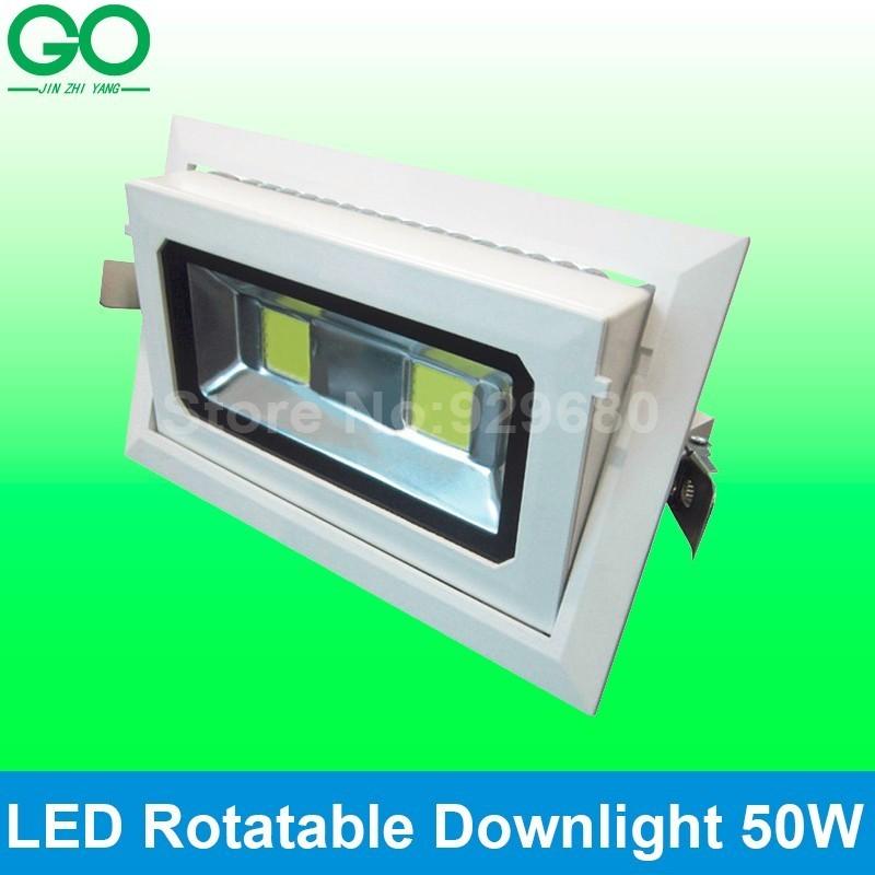 led rotatable down light 50w
