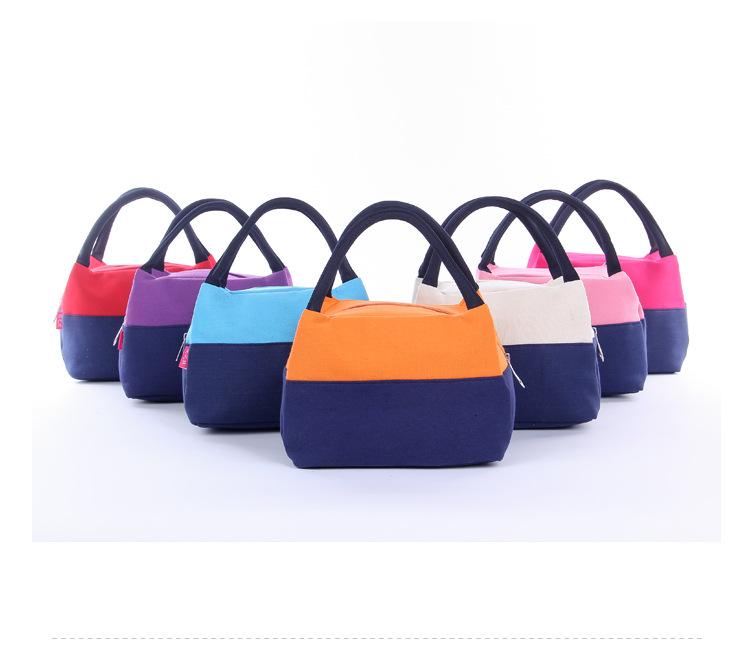 Portable Isolé Thermal Cooler Lunch Box Carry fourre-tout sac de rangement Picnic tonneau