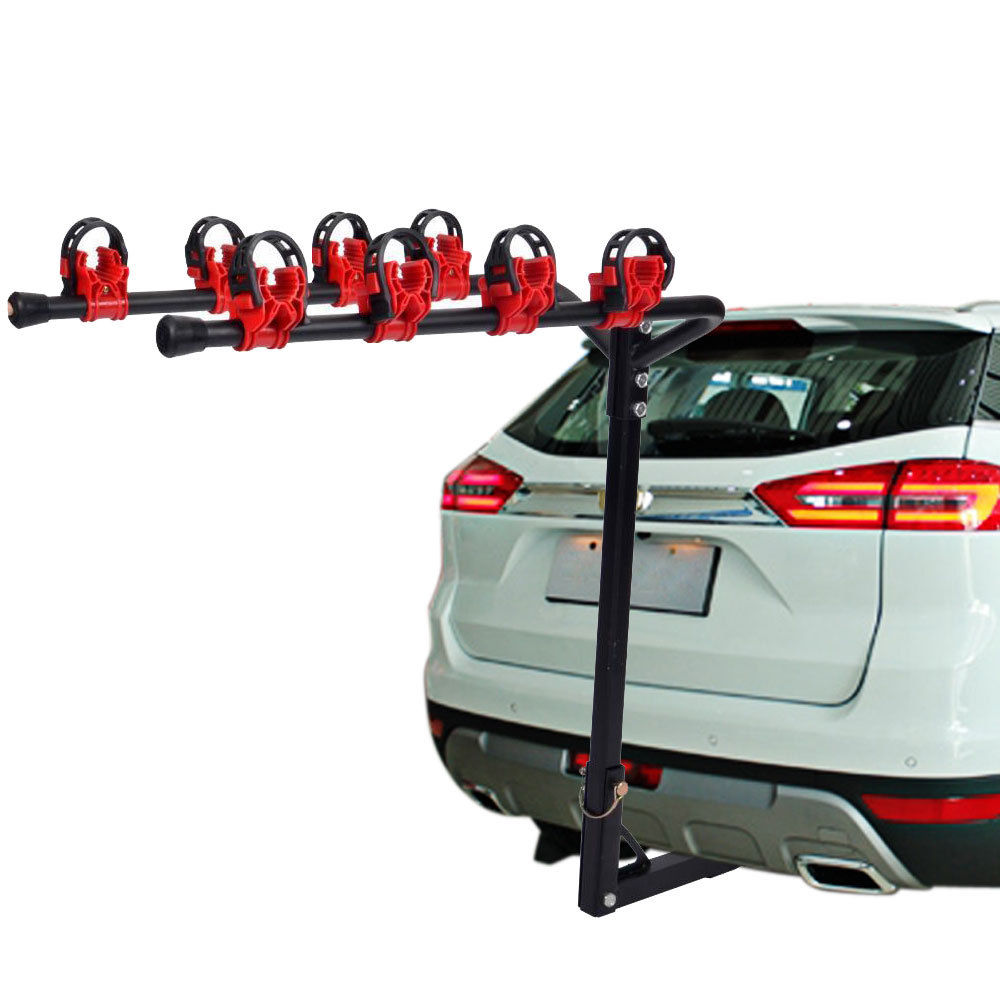"4 Bike Bicycle Rack Carrier Hitch Mount 1-1//4/""/&2/"" Car Truck SUV Outdoor Cycling"