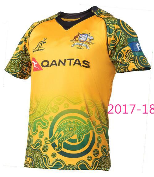 Wallabies Camiseta Oficial de Rugby de Australia 100/% algod/ón