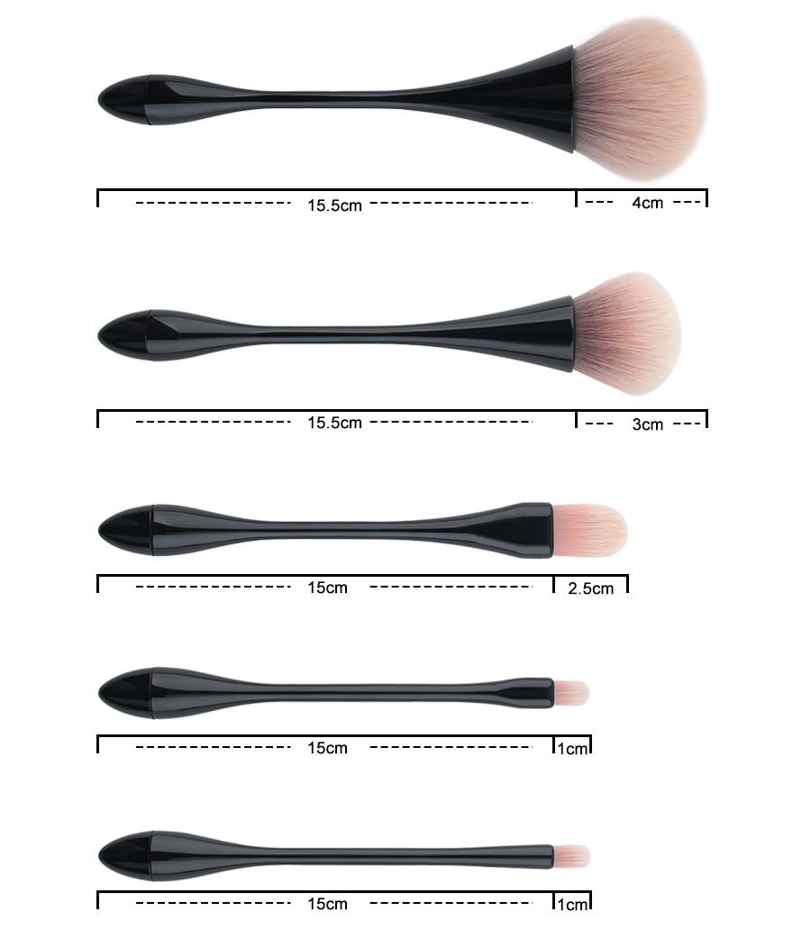 makeup brush set (8)