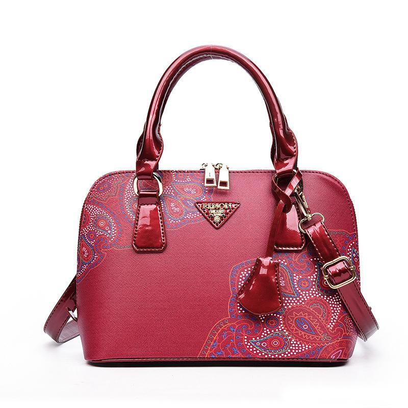 Women Fashion Totes Wholesale Ladies Classic Hot PU Leather Handbags High Quality Fashion Shells Package Printing Package