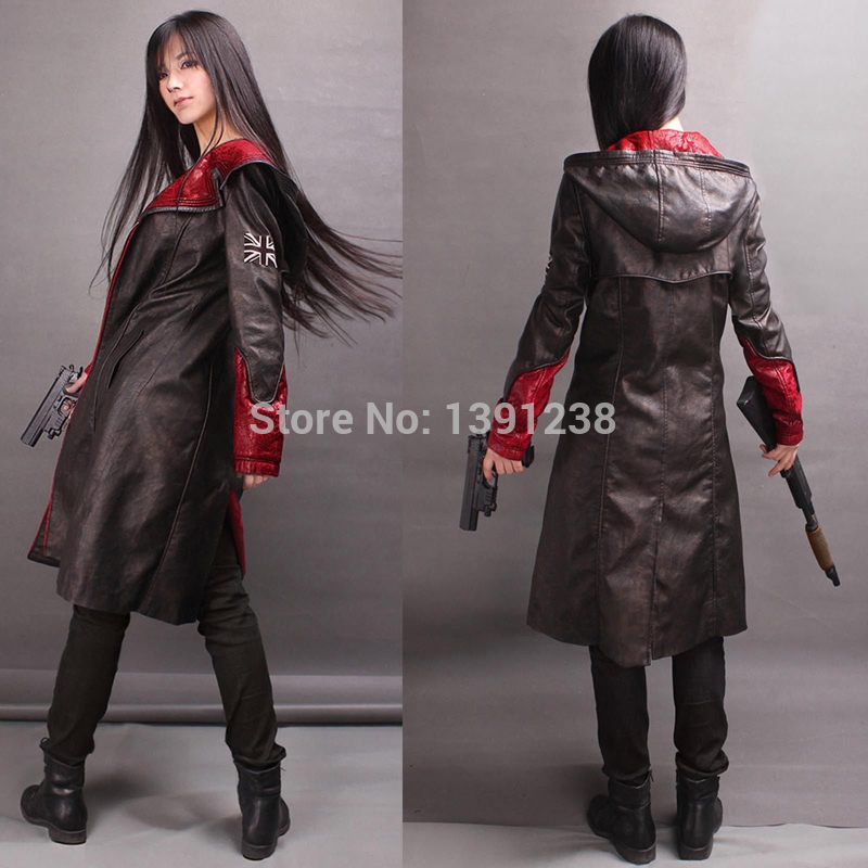Wholesale Devil May Cry 5 Dmc5 Jacket Games Devil May Cry Pu