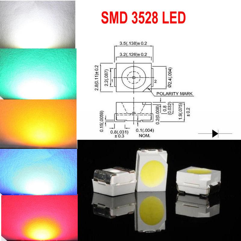 ULTRA LUMINOSA Acqua Chiara 5mm LAMPADINA LED 3V tutti i colori di luce che emette diodi