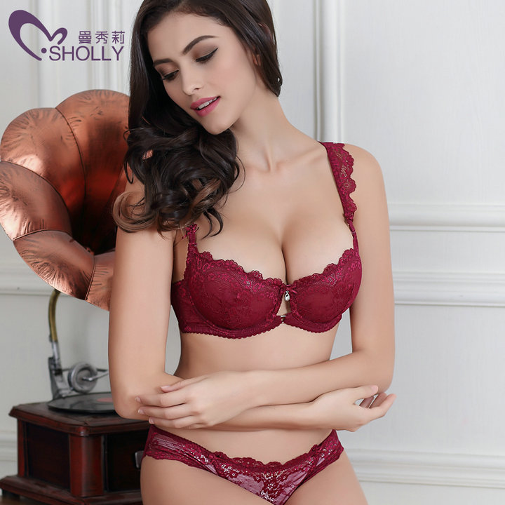 2017 wholesale 10413 5 new lace bra set sexy bra brief sets lace brassiere long cardigan sexy. Black Bedroom Furniture Sets. Home Design Ideas