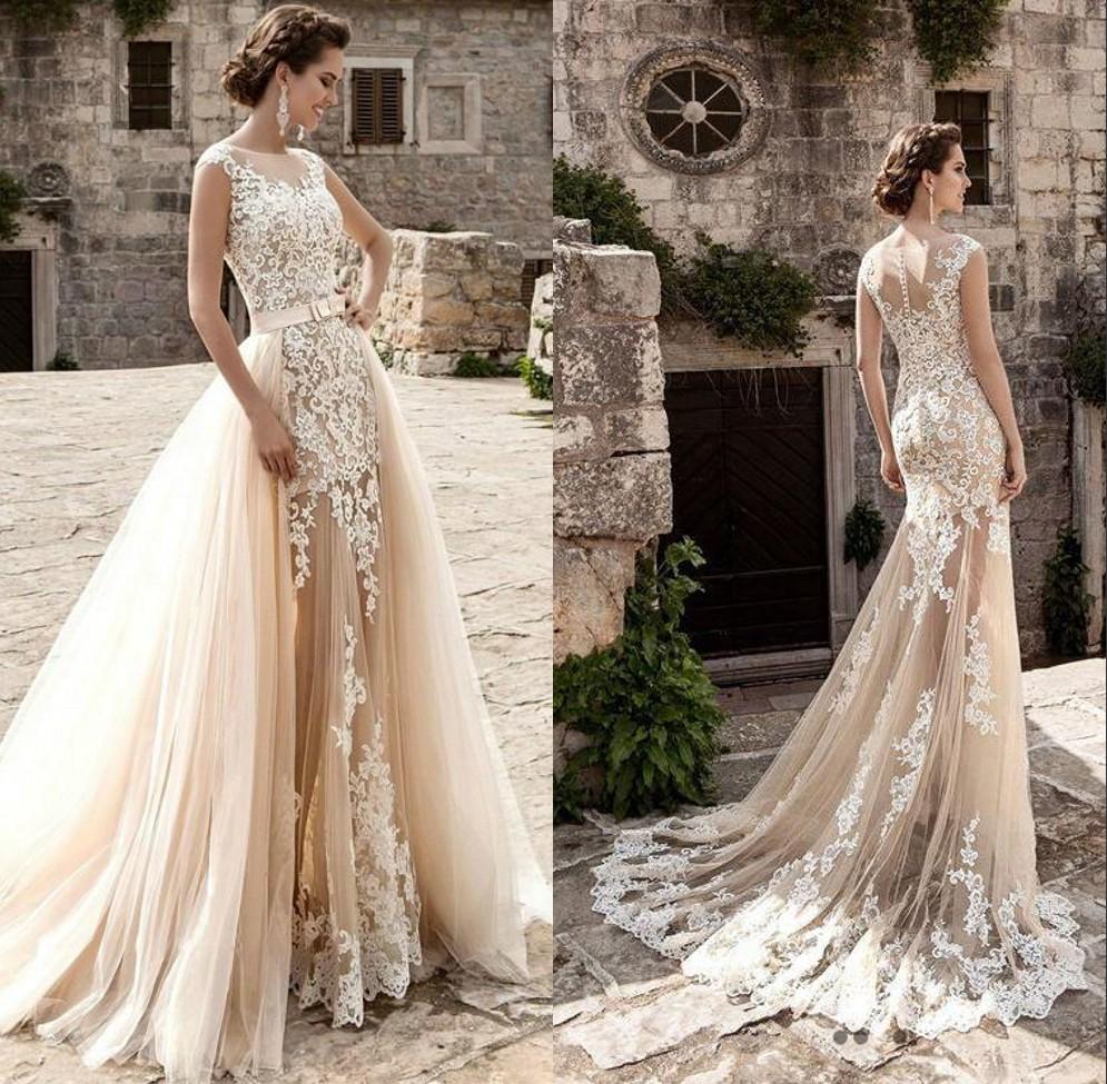Discount Detachable Skirt Wedding Dress Color Detachable Skirt Wedding Dress Color 2020 On Sale At Dhgate Com,Used Wedding Dress For Sale