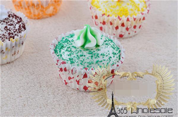 Artificial Cupcake squishy toys 6pcs - 2