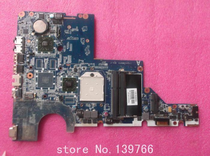 For HP Pavilion CQ42 G42 CQ62 G62 AMD laptop motherboard 592809-001 TEST OK