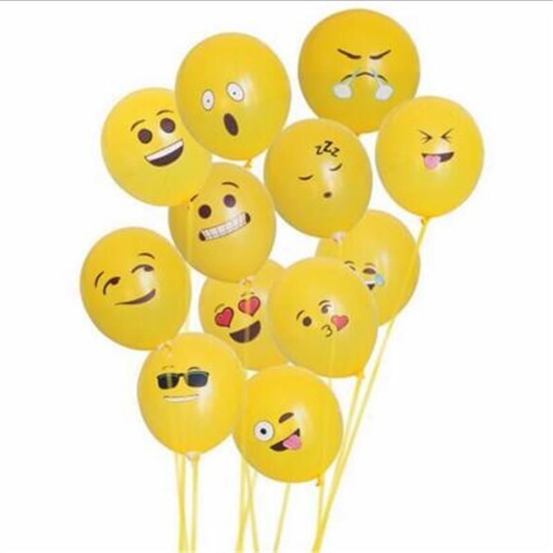 Látex Livre Balão Brinquedos 12 Polegada Emoji Expressão Festa de Casamento Balão Festival Decoração Presente Dos Miúdos Da Mordaça Brinquedos