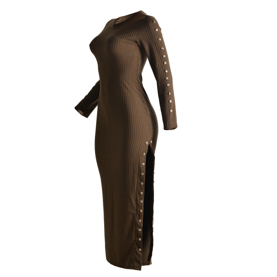 2016 Europe And The United States Women Fashion Sexy Knit Dress