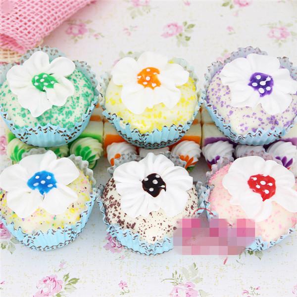 Artificial Cupcake squishy toys 6pcs - 13