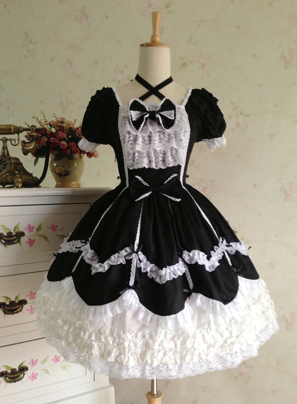 20b696fa50d87 Wholesale-7 Colors Halloween Victorian Gothic Lolita Dress Princess Cosplay  Costume Renaissance Period Dress Ball Gown Halloween Costumes