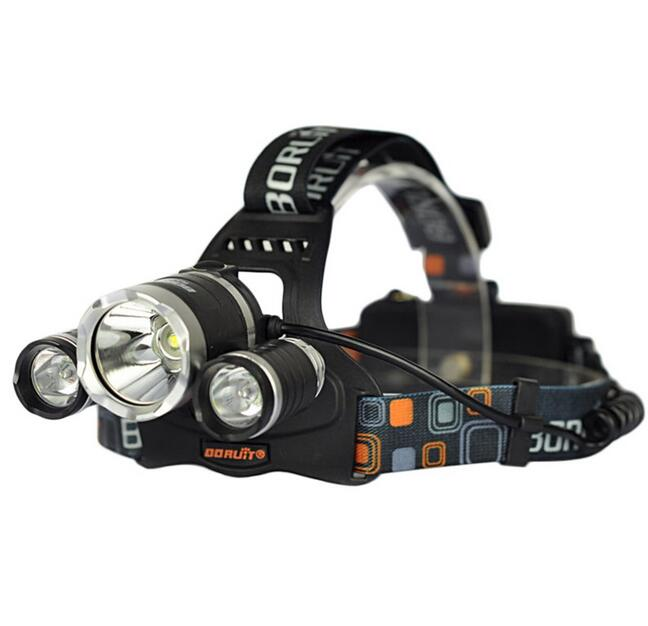 12000LM T6 3x CREE LED Headlamp Head Light Torch Lamp Rechargeable Flashlight ET
