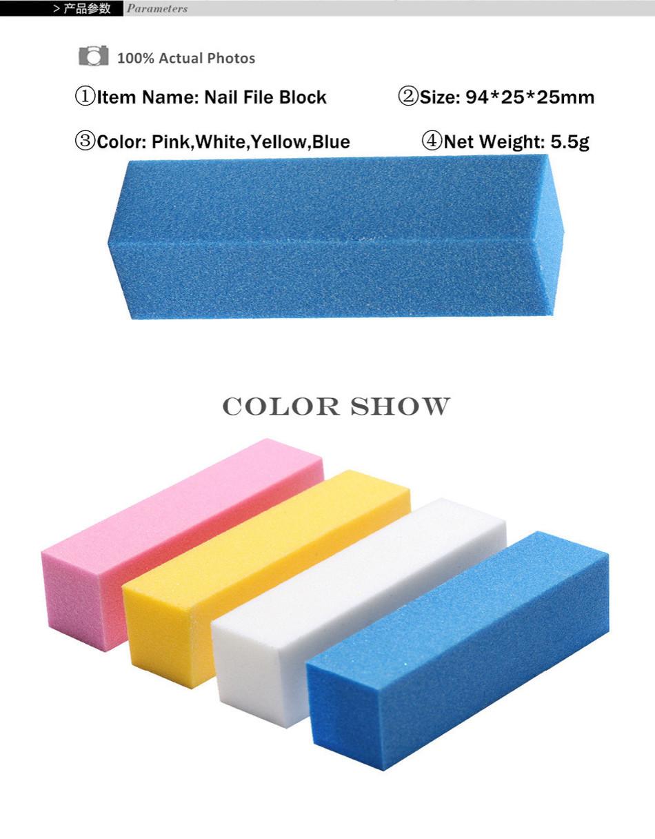 Awesome Nail File Block Collection - Nail Art Ideas - morihati.com