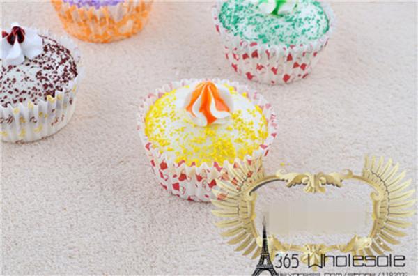Artificial Cupcake squishy toys 6pcs - 3