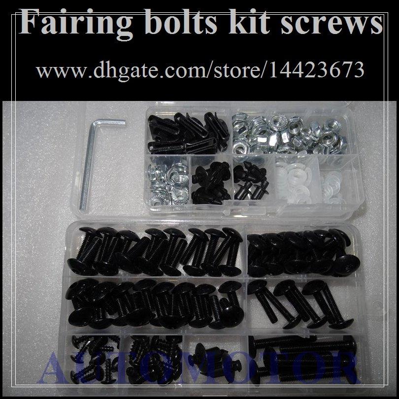 Fairing bolts full screw kit For YAMAHA FZR250R 88-89 FZR250 R FZR 250 R FZR 250R FZR-250 88 89 1988 1989 1A127 Body Nut Nuts bolt screws