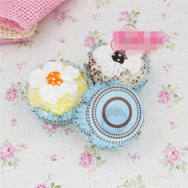 Artificial Cupcake squishy toys 6pcs - 14
