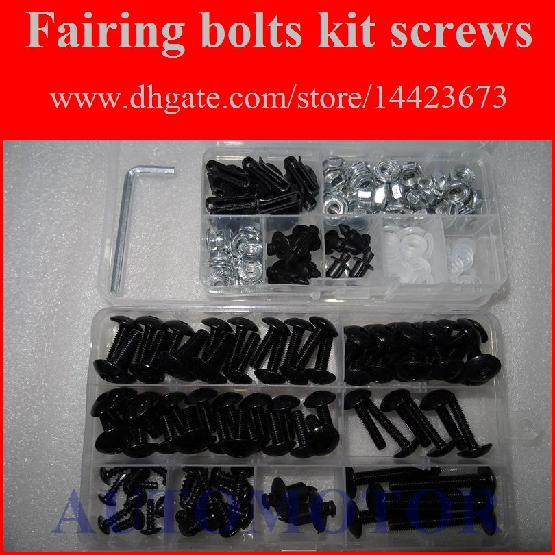 1997 1998 1999 2000 GSXR 600 Fairings Bolts Screws Fasteners Kit Set Made in USA Silver