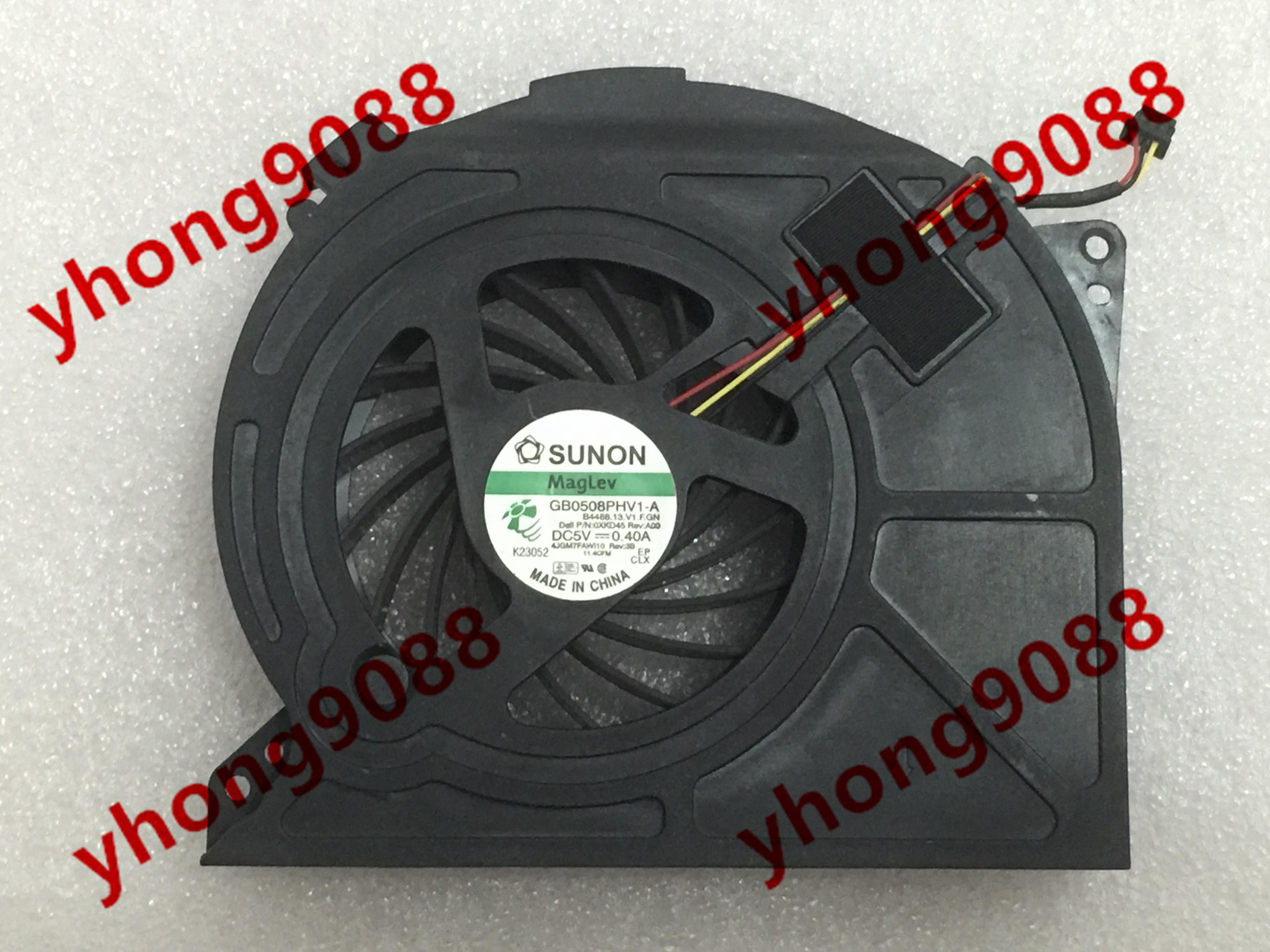 SUNON GB0545AFV1-8 B1824.GN 5V Blower Turbofan