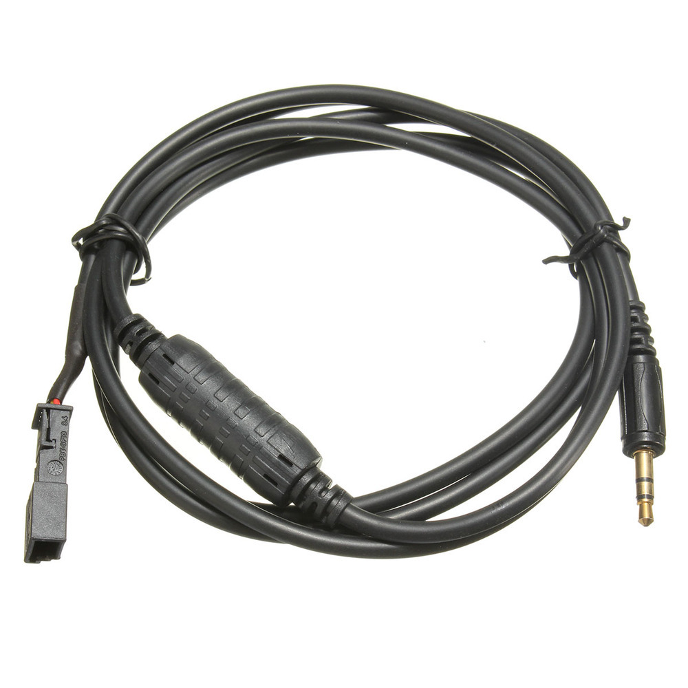 Cable de Interfaz de Radio de 3 Pines con Conector Jack DE 3,5 mm AUX para BMW BM54 E39 E46 E53 X5