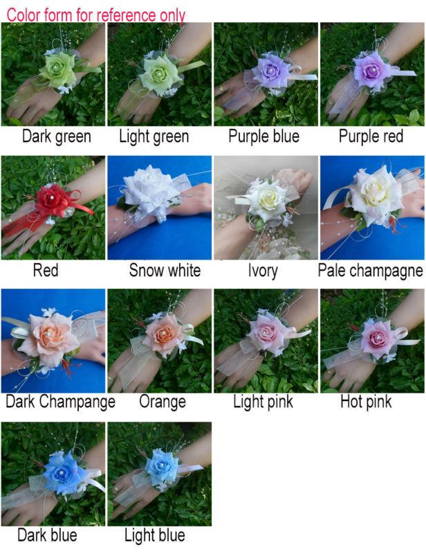 ZZW multi colors of corsages