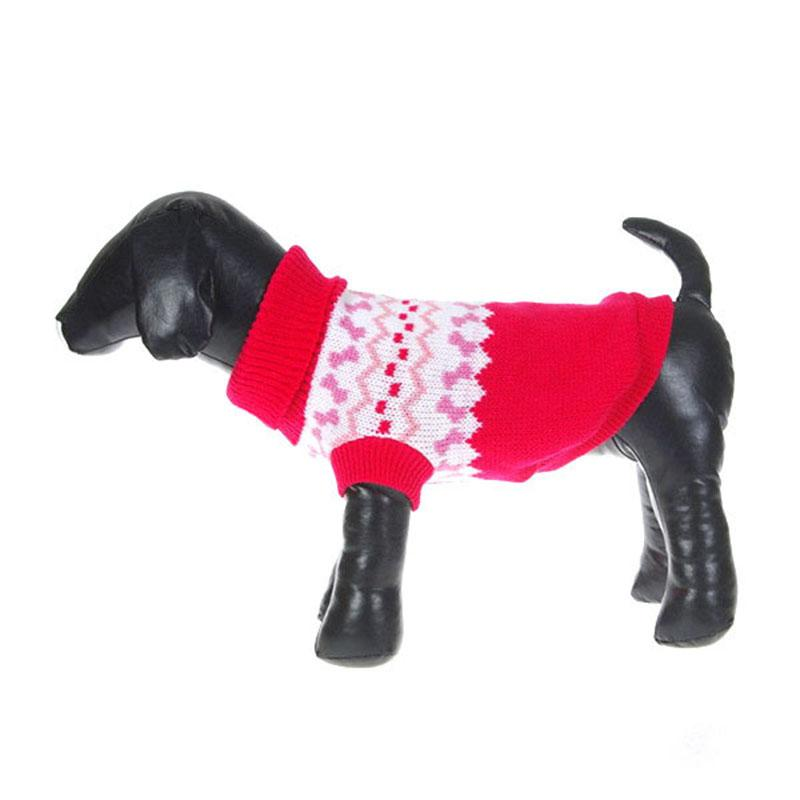 2018 Pet Dog Sweater Warm Knitting Crochet Clothes For Dog Chihuahua ...