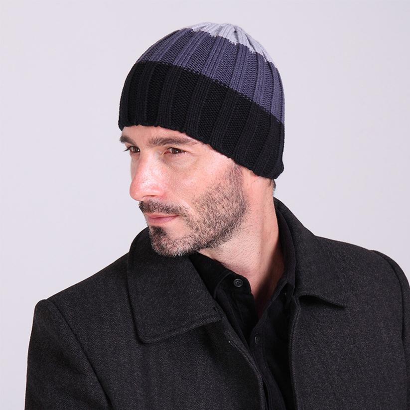 a29d57d6ad8 Wholesale-Brand New Unisex Designer Winter Beanie Knitted Wool Plus Velvet  Cap Skullies Thicker Mask Fringe Skull Cap Ski
