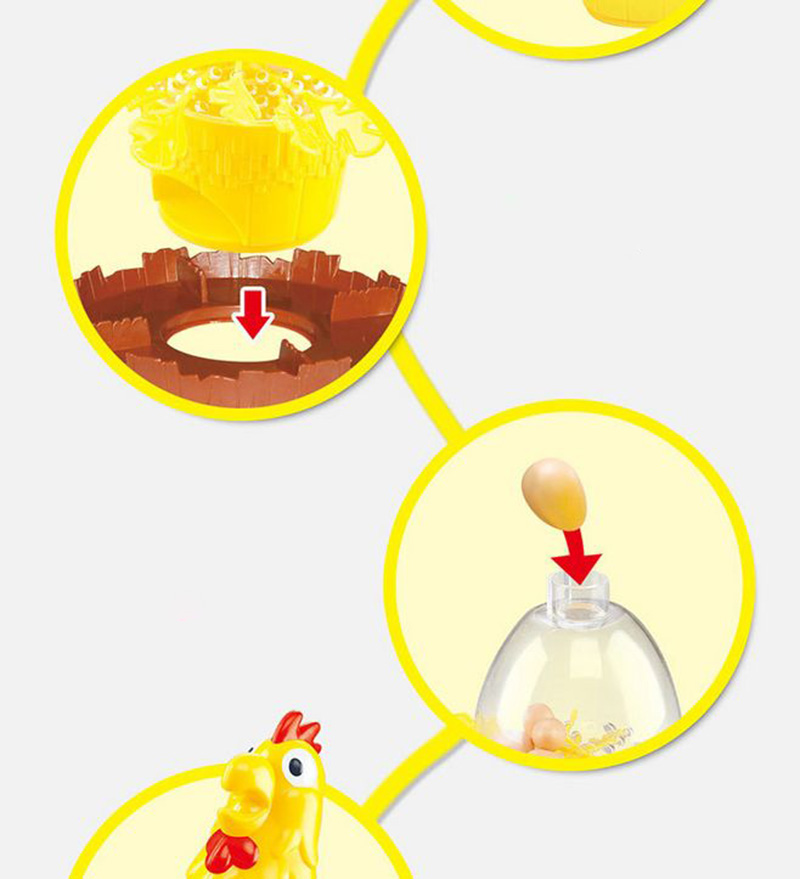 Chicken Don\'t Drop Egg Game Child Exciting Fun Pull Out Feathers Toy Gift Family Educational Parent-Child Interactive Game Toys (7)