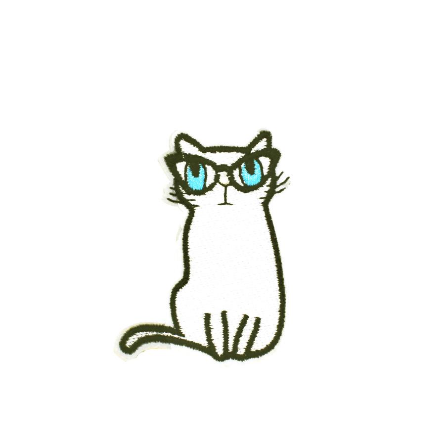 EXCEART 2 Piezas de Parches de Hierro con Lentejuelas Parches Bordados con Forma de Gato Apliques Diy Decoraci/ón Artesanal Coser Parches para Ropa Jeans Rosa