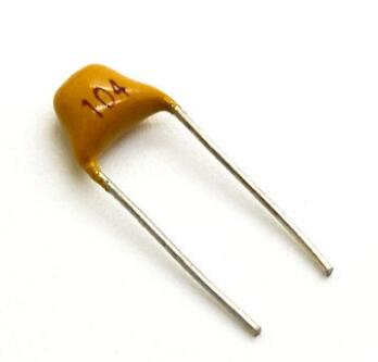 Condensatori Ceramici a Disco 100nF 104 50V 50PZ Ceramic Capacitors