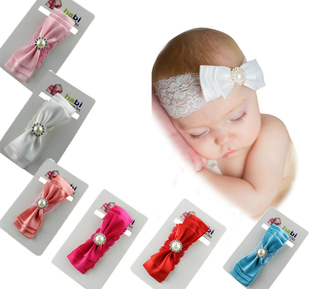 Baby Toddlers Infants Kids Girl Lovely Wide Hairband Headband Cross Head Wrap