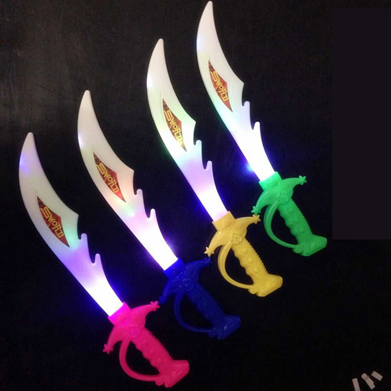 NINJA spada giocattolo//Light Up Blu o Verde//Luce Lampeggiante SPADA//Sciabola