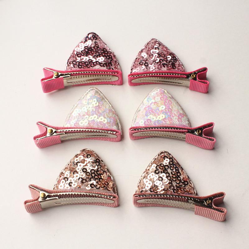 30 Stück Gemischte Farbe Filz Krone Haarspangen Mädchen Prinzessin Krone
